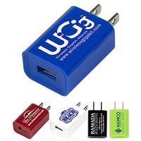 """Hamburg"" UL® Listed USB Wall Charger & AC Adaptor"