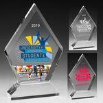 Custom Diamond Award - Screen Print