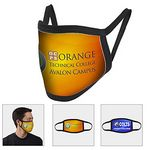 Custom Full Color Sublimation Washable & Reusable Face Mask