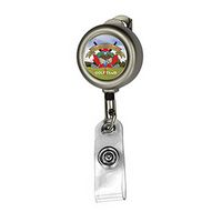 Solid Metal Retractable Badge Reel & Badge Holder