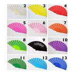 Custom Foldable Fancy Fabric Hand Fan 9
