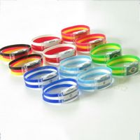 National Flag Wristband With LED Light