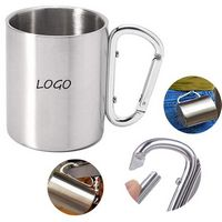 Carabiner handle mug 11oz