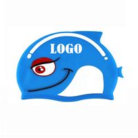 Cute Fish Silicone Cap For Children