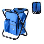 Custom Backpack Foldable Chair with Cooler Bag