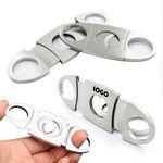 Custom Stainless Steel Pocket Cigar Cutter