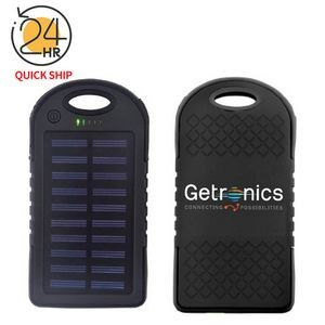 The most popular Solar Power Bank - 4000mAh 2 USB Ports, LED light, UL certified