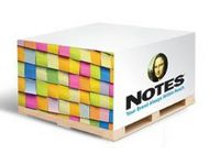 Half Size Non-Adhesive Note Cube (3 7/8