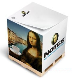 Full Size Non-Adhesive Note Cube® Notepad (2 1/2