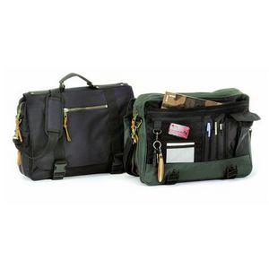 Ballistic Briefcase Expandable Messenger Bag