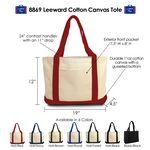 Custom Leeward Cotton Canvas Tote