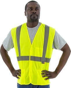Custom High Visibility Mesh Vest, Ansi 2, R