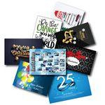 Custom Custom Greeting cards, 4-color process 2 sides