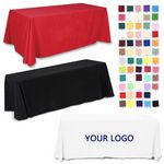 Custom Washable Rectangle Tablecloth Table Cover For Buffet Table, Parties, etc