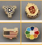 Custom Custom Design Cloisonne Hard Enamel Lapel Pins 1