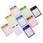 Portable Mini Transparent Calculator Touch Screen Calculator