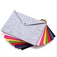 Portable Felt Holder Documents Folders Briefcase Bag
