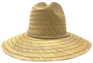 Custom Bamboo Straw Lifeguard Hat