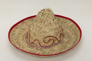 45f258f241bc2 Child s Natural Straw Sombrero Hat - A10058 - IdeaStage Promotional Products