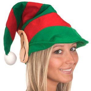 Custom Felt Elf Hat w/ Ears, Adult