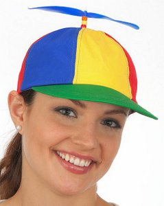2dbf93895df Cotton Multi-Color Propeller Cap w Plastic Adjustable Tab ...