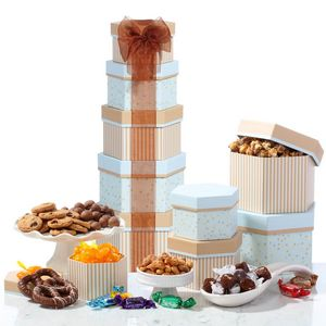 Celebration Gift Tower w/Sweets Nuts and Chocolates