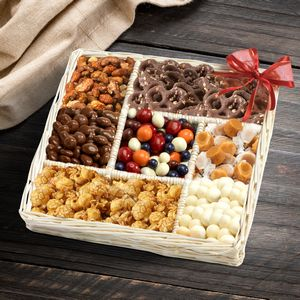 Custom Sweet Surprises Snack Gift Tray