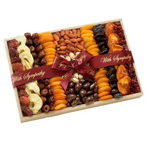 Custom Thoughtful Dried Fruit and Nuts Gift Tray
