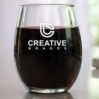 9 oz. Stemless Wine Glass