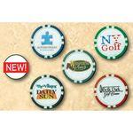 Poker Chip Golf Ball Marker (Premium Coated)