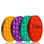 Bubble Pop Fidget Sensory Toys Silicone Stress Reliever Kids and Adult ---Circle Shaped