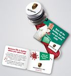 Holiday Theme Promo Spice Tube w/Pink Peppercorns