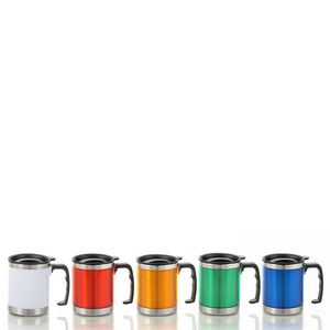 Stainless Steel Travel Mug-13.52 oz