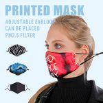 Custom Dye-Sub Printed Face Mask w/Adjustable Ear Strap