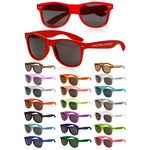 Sunglasses UV400 - Full Color, Lens imprint, Colored Lenses, and Mirrored Lenses also available!