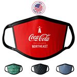 Custom Face Mask, Sublimated Antimicrobial Surgical Style PPE MADE IN USA
