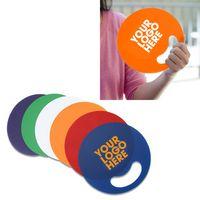 Round Custom Hand Fan