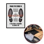 Custom Custom Disposable Paper Car Floor Mats