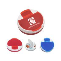 Round Shape 4 Compartments Rotating Pill Box Or Pill Case Or Pill Storage Or Pill Container