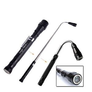 Extendable LED Flashlight for Picking up