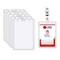 Vertical ID Badge Holder
