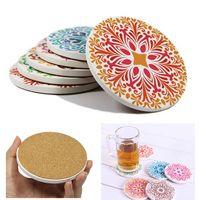 "Round Absorbent ""drink"" Spills Stone Coaster"