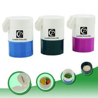 4-Layer Pill Case with Cutter