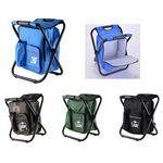 Custom High Quality Portable Folding Fishing Chair With Ice Bag