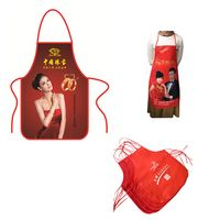Custom Full Color Imprint Non-woven Apron
