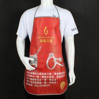 Custom Full Color Imprinting Laminated Non-woven Apron