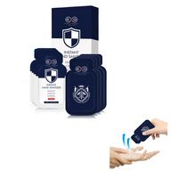 Sliver Ion Instant Disposable Hand Sanitizer Packet