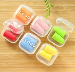 Ear Plugs In Case Ear Plugs for Sleeping Noise Cancelling Reusable PU Ultra Comfortable