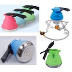 Portable Silicone Collapsible Tea Kettle