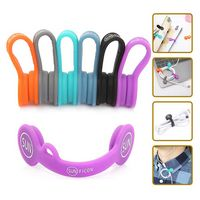 Cable Organizers Magnetic Cable Clips Ear Buds Cords Winder